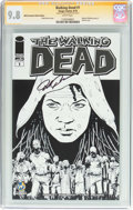Modern Age (1980-Present):Horror, Walking Dead #1 Wizard World Sacramento Sketch Edition - SignatureSeries (Image, 2015) CGC NM/MT 9.8 White pages....