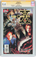 Modern Age (1980-Present):Science Fiction, X-Files #7 Signature Series (IDW Publishing, 1995) CGC NM 9.4 White pages....