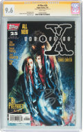 Modern Age (1980-Present):Science Fiction, X-Files #25 Signature Series (IDW Publishing, 1997) CGC NM+ 9.6White pages....