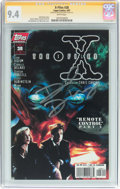 Modern Age (1980-Present):Science Fiction, X-Files #28 Signature Series (IDW Publishing, 1997) CGC NM 9.4 White pages....