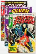 Silver Age (1956-1969):Superhero, The Silver Surfer Group of 4 (Marvel, 1968-69).... (Total: 4 Comic Books)