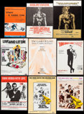 "Movie Posters:James Bond, Goldfinger & Others Lot (United Artists Music, 1964). SheetMusic (26) (approx. 9"" X 12""), Italian Sheet Music (7"" X 10"") &... (Total: 34 Items)"