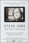 "Movie Posters:Documentary, Steve Jobs: The Lost Interview & Other Lot (Magnolia Pictures, 2012). One Sheet (27"" X 39.75"") DS, & 20th Anniversary Advert... (Total: 2 Items)"