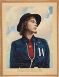 Miscellaneous, [Queen Elizabeth II]. Girl Guides Poster Featuring the Future Queenof England....