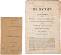Books:Americana & American History, Two William Henry Harrison 1840 Campaign Printings: . ... (Total: 2Items)