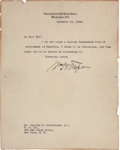 Autographs:U.S. Presidents, William H. Taft Typed Letter Signed as Chief Justice of the SupremeCourt....