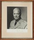 Autographs:U.S. Presidents, Dwight D. Eisenhower Signed and Inscribed Photograph....