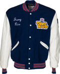 Football Collectibles:Uniforms, 1987 NFL Alumni Player of the Year Jacket Presented to Jerry Rice....