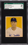Baseball Cards:Singles (1940-1949), 1949 Bowman Duke Snider #226 SGC 96 Mint 9 - Pop Three, None Higher....