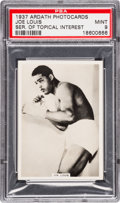 "Boxing Cards:General, 1937 Ardath ""Series of Topical Interest"" Joe Louis PSA Mint 9 -None Higher...."