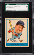 Baseball Cards:Singles (1930-1939), 1938 Goudey Jimmy Foxx #249 SGC 96 Mint 9 - Pop Two, None Higher!...