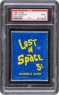Non-Sport Cards:Unopened Packs/Display Boxes, 1966 Topps Lost in Space 5-Cent Wax Pack PSA Mint 9....