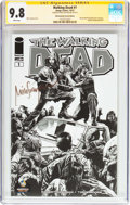 Modern Age (1980-Present):Horror, The Walking Dead #1 Wizard World Nashville 2013 Sketch Edition -Signature Series (Image, 2013) CGC NM/MT 9.8 White pages....