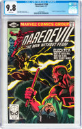 Modern Age (1980-Present):Superhero, Daredevil #168 (Marvel, 1981) CGC NM/MT 9.8 White pages....