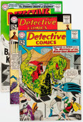 Silver Age (1956-1969):Superhero, Detective Comics Group of 6 (DC, 1962-74) Condition: Average VF+.... (Total: 6 Comic Books)