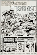 Original Comic Art:Complete Story, Dick Ayers and Romeo Tanghal Jonah Hex #41 Complete 8-Page Story Original Art (DC Comics, 1980).... (Total: 8 Original Art)
