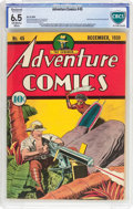 Golden Age (1938-1955):Superhero, Adventure Comics #45 (DC, 1939) CBCS Restored FN+ 6.5 Moderate (P) Off-white to white pages....