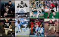 Football Collectibles:Photos, Football Greats Signed Photographs Lot of 29....