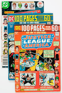 Justice League of America Group of 18 (DC, 1974-78) Condition: Average NM-.... (Total: 18 Comic Books)