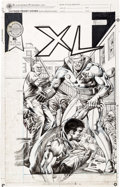 Original Comic Art:Covers, Rudy Nebres XL Graphic Novel Cover Original Art(Blackthorne, 1988)....