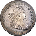 Early Half Dollars, 1806/5 50C O-101, T-6, R.3, -- Improperly Cleaned -- NGC Details.AU....