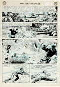Original Comic Art:Panel Pages, Lee Elias Mystery In Space #92 Story Page 3 Original Art (DC, 1964)....