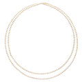 Estate Jewelry:Necklaces, Cultured Pearl Necklace. . ...