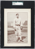 Baseball Cards:Singles (Pre-1930), 1910-12 Plow Boy Ed Walsh (Blank Back) SGC 40 VG 3 - Only FourGraded Examples. ...
