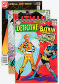 Silver Age (1956-1969):Superhero, Batman-Related Group of 7 (DC, 1966-78).... (Total: 7 Comic Books)