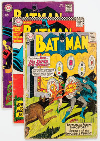 Batman/The Brave and the Bold Group of 12 (DC, 1963-69) Condition: Average FR.... (Total: 12 Comic Books)