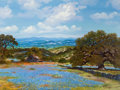 Fine Art - Painting, American:Contemporary   (1950 to present)  , William A. Slaughter (American, 1923-2003). DistantRockwall. Oil on canvas. 30 x 40 inches (76.2 x 101.6 cm).Signed lo... (Total: 2 Items)