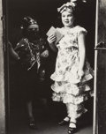 Photography, Marvin Newman (American, b. 1927). Two Children in Costumes in Doorway, c. 1950. Gelatin silver. 9-1/2 x 7-1/2 inches (2...