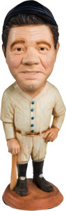"Baseball Collectibles:Others, 1987 Babe Ruth ""Esco"" Statue...."