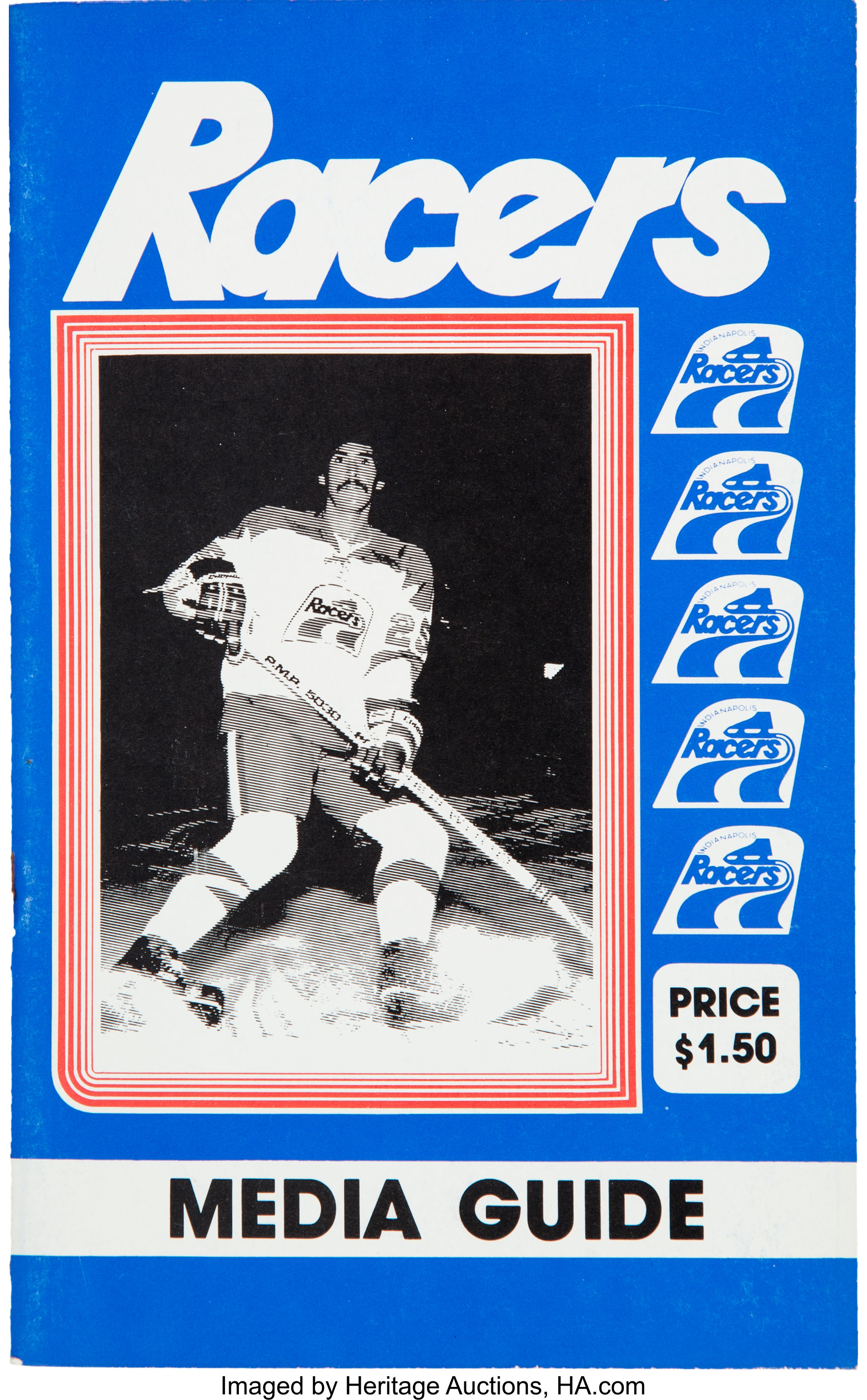 best service 5f758 d30be 1978-79 Indianapolis Racers Media Guide - From Wayne ...