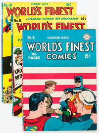 World's Finest Comics Group of 49 (DC, 1941-52) Condition: Incomplete.... (Total: 49 Comic Books)