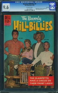 Beverly Hillbillies #9 - File Copy (Dell, 1965) CGC NM+ 9.6 OFF-WHITE pages