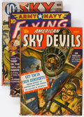 Pulps:Miscellaneous, Assorted Pulps Group of 15 (Miscellaneous Publishers, 1938-44) Condition: PR.... (Total: 15 Comic Books)