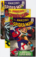 Silver Age (1956-1969):Superhero, The Amazing Spider-Man Group of 4 (Marvel, 1966-67).... (Total: 4 Comic Books)