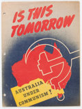 Golden Age (1938-1955):Non-Fiction, Is This Tomorrow #nn Australian Edition (Catechetical Guild, 1947) Condition: VG/FN....