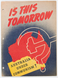 Is This Tomorrow #nn Australian Edition (Catechetical Guild, 1947) Condition: VG/FN