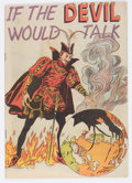 Golden Age (1938-1955):Religious, If the Devil Would Talk nn (Impact, 1950) Condition: FN/VF....