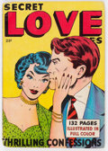 Golden Age (1938-1955):Romance, Fox Giants: Secret Love Stories #nn (Fox Features Syndicate, 1949)Condition: VG-....