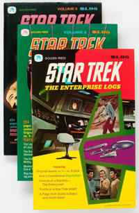 Star Trek: The Enterprise Logs #1-4 Group (Gold Key, 1976-77) Condition: Average VF/NM.... (Total: 4 Comic Books)
