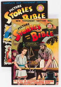Picture Stories from the Bible Group of 2 (EC/DC, 1940s) Condition: Average FN.... (Total: 2 Comic Books)