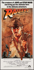 "Movie Posters:Adventure, Raiders of the Lost Ark (UIP, 1981). Australian Post-War Daybill(13"" X 26.75""). Adventure.. ..."