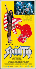 "Movie Posters:Rock and Roll, This is Spinal Tap (Starscreen and Greater Union, 1985). AustralianPost-War Daybill (13.25"" X 25""). Rock and Roll.. ..."