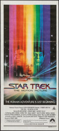 "Movie Posters:Science Fiction, Star Trek: The Motion Picture (CIC, 1979). Australian Post-War Daybill (13.25"" X 29.75""). Science Fiction.. ..."