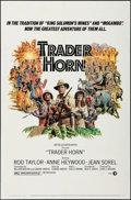 "Movie Posters:Adventure, Trader Horn & Other Lot (MGM, 1973). One Sheet (27"" X 41""),Half Sheets (2) (22"" X 28""), Mini Lobby Cards (2), & Photos (18... (Total: 23 Items)"