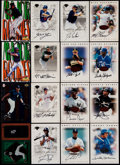 Baseball Cards:Lots, 1996 Leaf Signature Baseball Autographs Collection (300) And More....