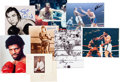 Boxing Collectibles:Autographs, 1966-78 Muhammad Ali Opponents Autographs Lot of 8....